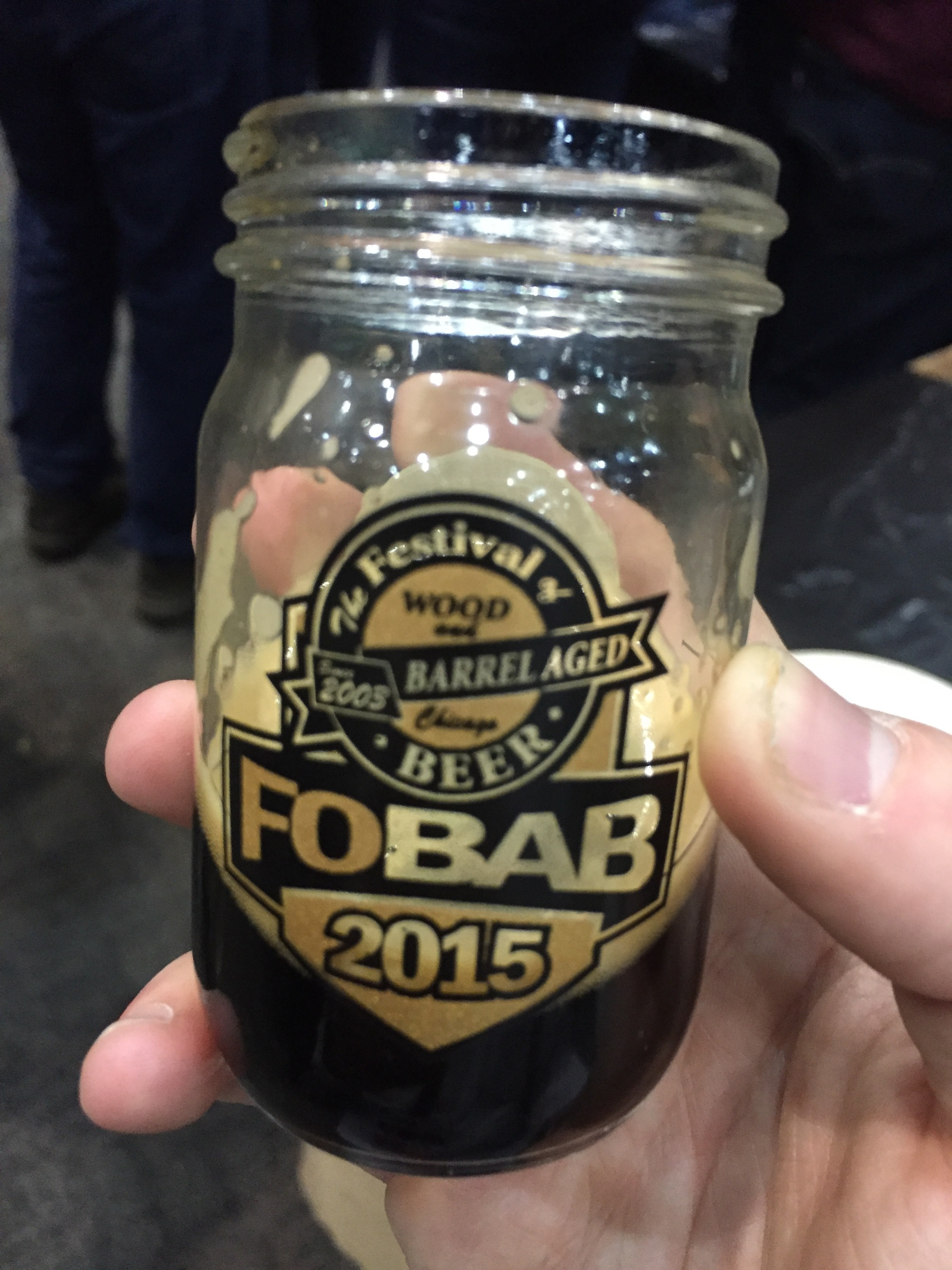 Rare in the mini mason jar