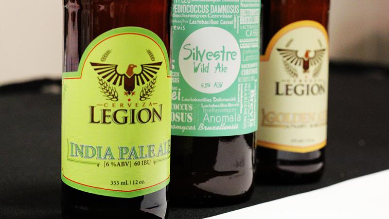 Cervecería Legion's Silvestre Wild Ale Sour