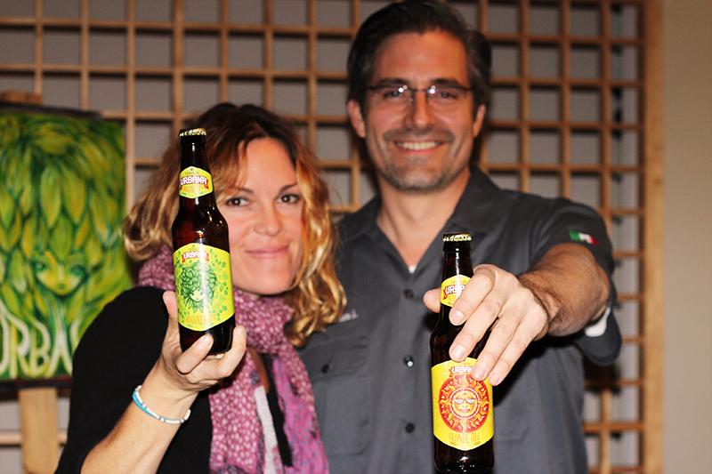 Head Brewer Armando Reneaum (Cerveza Urbana)