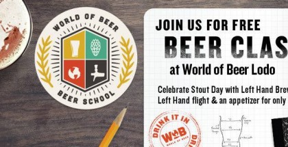 #PourHard Beer School at World of Beer LoDo