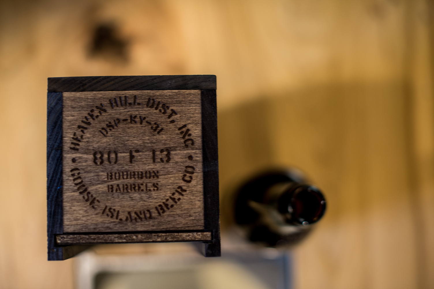 The top of the Rare box looks like the Heaven Hill barrels. Photo credit: Eric Dirksen.