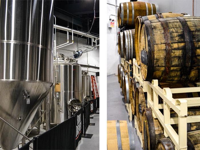 The Bronx Brewery Tanks & Barrels