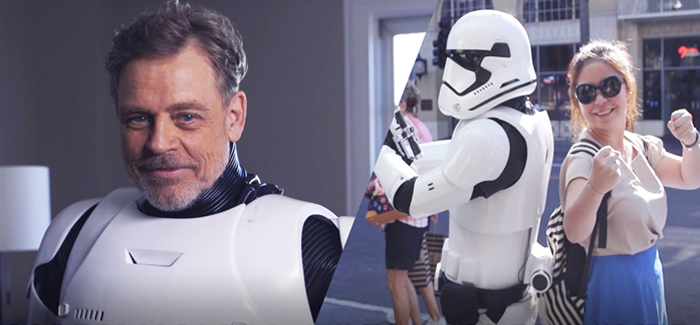 Mark Hamill Stormtrooper
