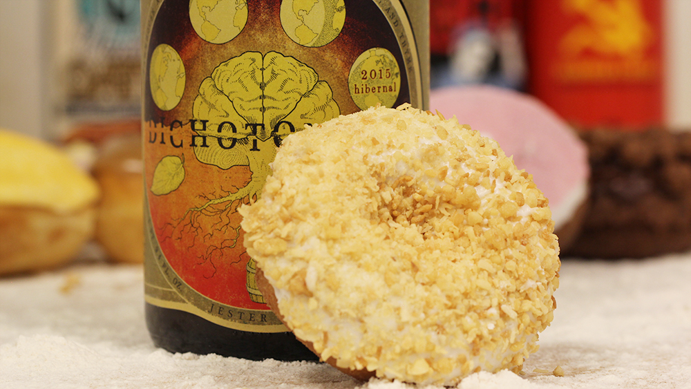 Jester King and Toasted Coconut Beer and Voodoo Doughnuts Pairing