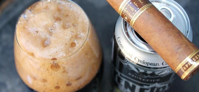 Puff and A Pour   Oliva Cappuccino Nub Café & Oskar Blues BA Ten Fidy