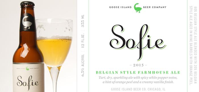 Goose Island Sofie 2015