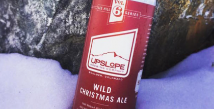 Upslope Brewing Company Wild Christmas Ale