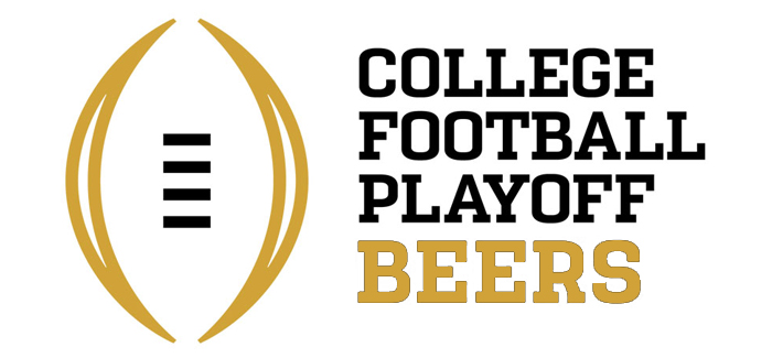 College Football Playoff Beers