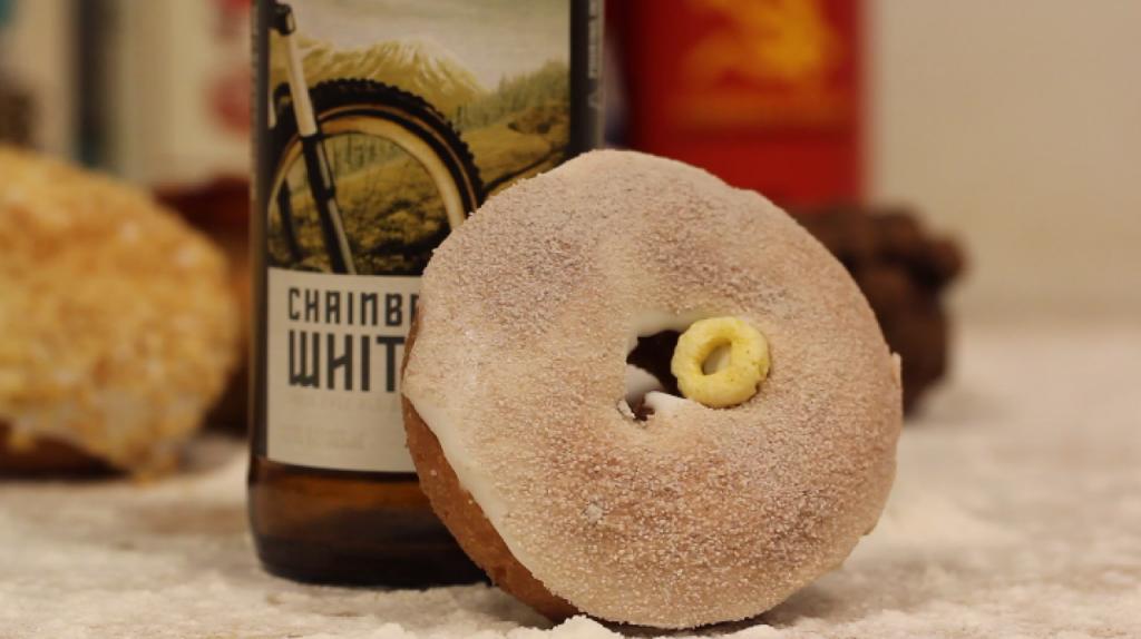 Beer and Voodoo Doughnuts Pairing chainbreaker deschutes