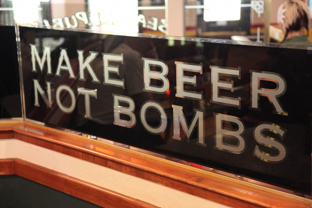 Make Beer Not Bombs