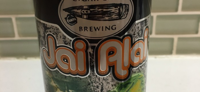 Cigar City Brewing | White Oak Jai Alai