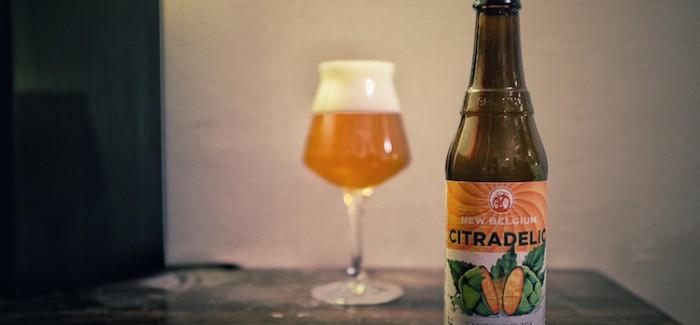 New Belgium Brewing Citradelic Tangerine IPA