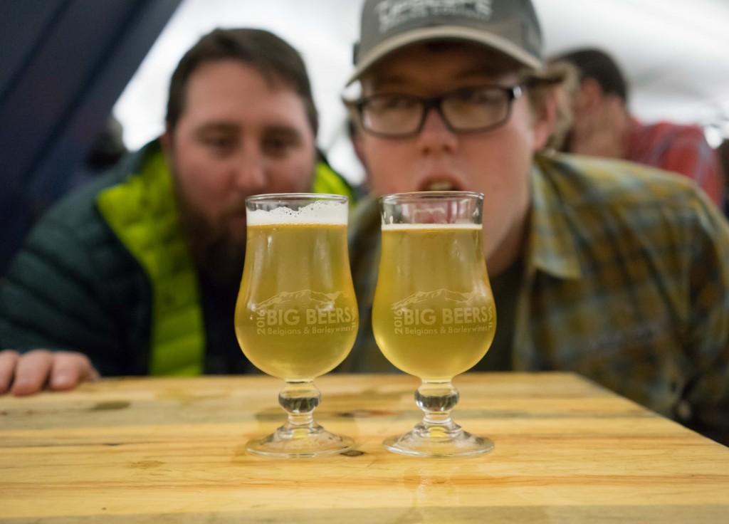 2016 Vail Big Beers Belgians and Barleywines Upslope Brewing Experimental Petite Saison