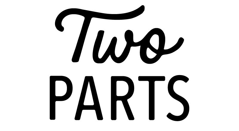 Two Parts Logo