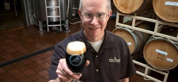 Darron Welch, brewmaster of Pelican Brewing Company