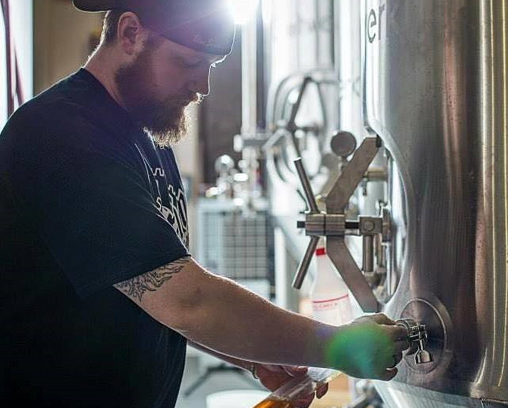 Brian Richards, head brewer.