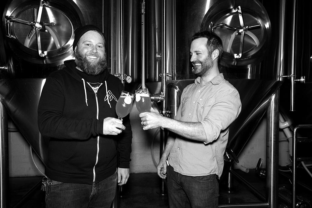 Co-Founders Zach Lowery and Jason zumBrunnen. Photo Courtesy of Dustin Hall, The Brewtography Project.