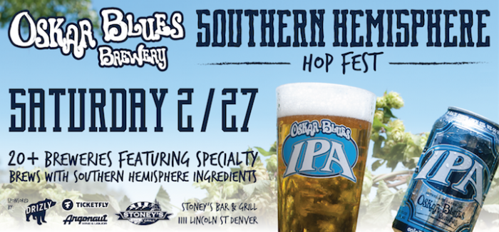 Event Preview | Oskar Blues Southern Hemisphere Hop Fest