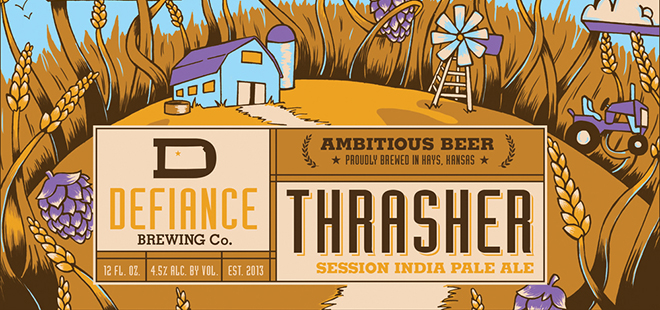 Defiance Brewing Co. | Thrasher Session IPA