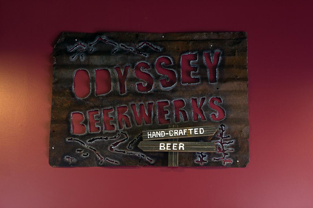 Odyssey Beerwerks Sign