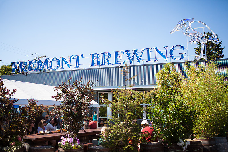 A beautiful day on the Fremont Brewing patio? Nothing could be better. Photo courtesy of starchefs.com