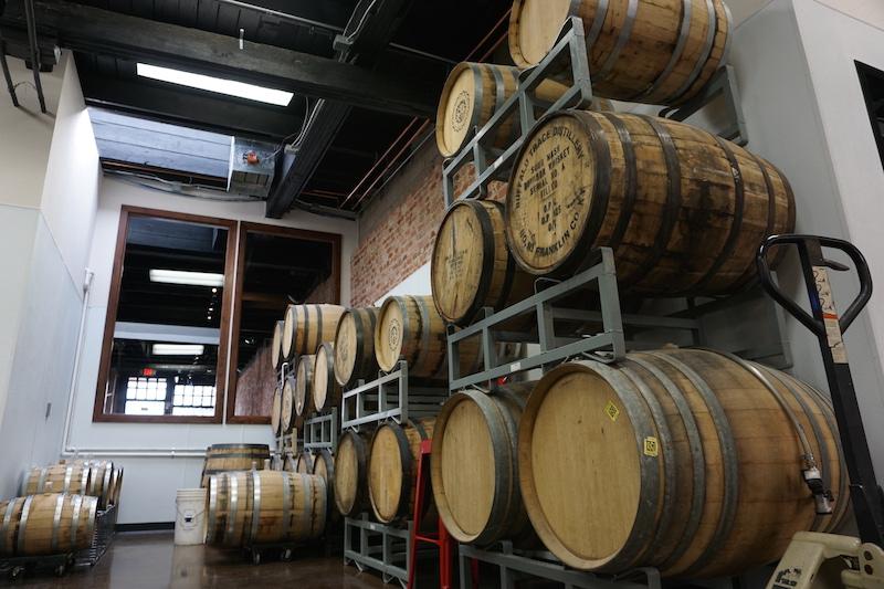 Verboten Brewing Barrels