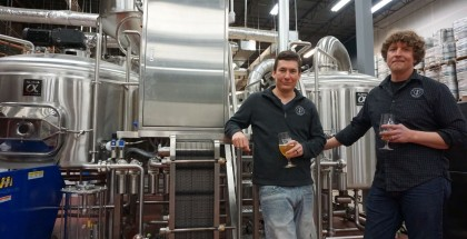Patrick Annesty and Matt Hess of River North Brewery