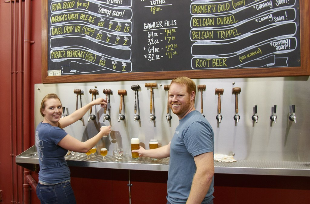 Liz & Curtis Chism, co-owners of Council Brewing