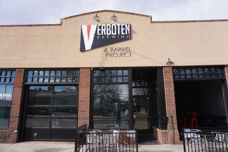 Verboten Brewing Exterior