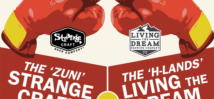 Strange Craft and Living the Dream breweries create charitable IPA Throw Down to celebrate Colorado Craft Beer Week