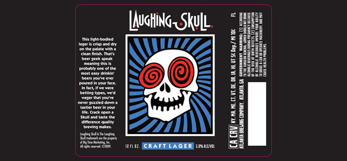 Red Brick Brewing | Laughing Skull Craft Lager