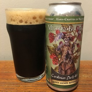 Queen Anne's Revenge North Carolina Craft Beer Mystery Brewing