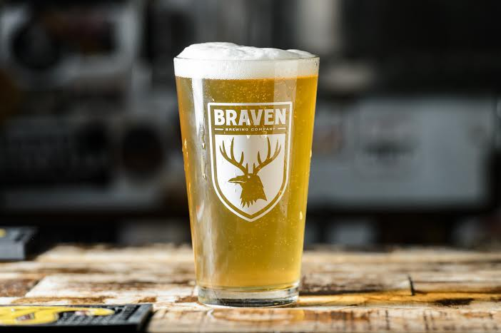 The Bushwick Pilsner (Photo Courtesy of Braven Brewery)