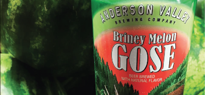 Anderson Valley Brewing Co. | Briney Melon Gose