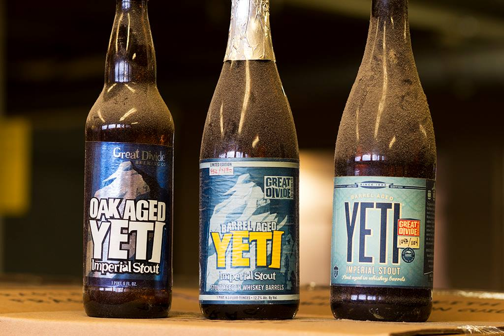 Great Divide Brewing Old Yeti Bottles