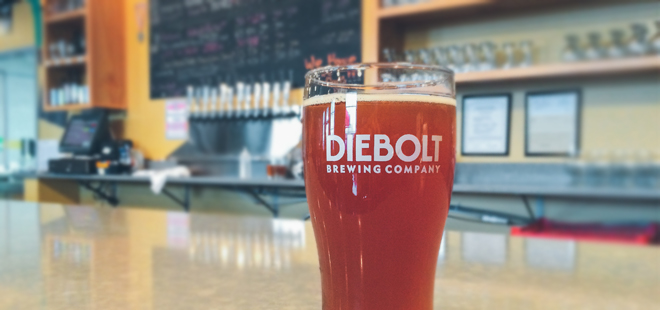 Diebolt Brewing Company | Rosemary Lemon Bar Ale