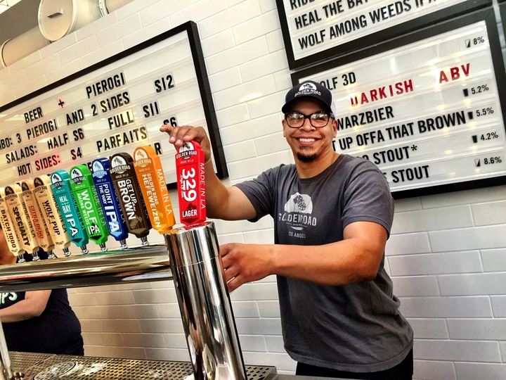 Sunny Tanco, Assistant Manager Golden Road Brewing - Grand Central Market