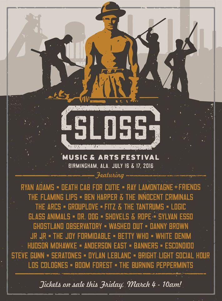 2016 Sloss Music Festival