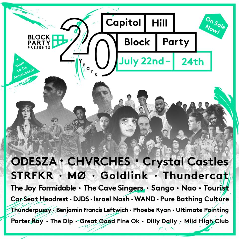 2016 cap hill block party lineup