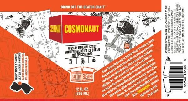 Carton Brewing Company | Cosmonaut