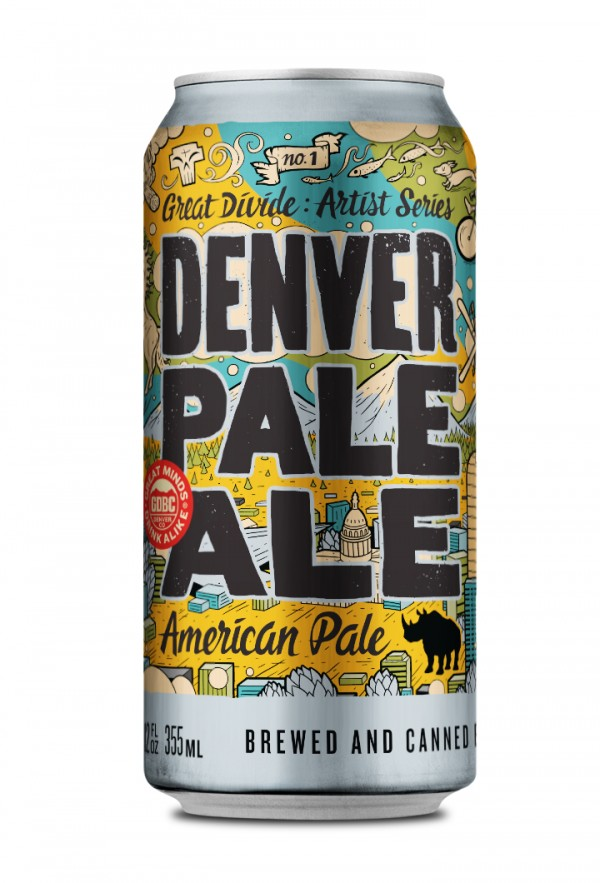 Great Divide Denver Pale Ale can