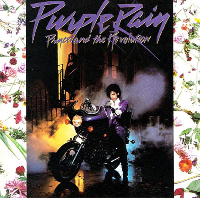 Purple Rain was the sixth studio album by American recording artist Prince, the first to feature his backing band The Revolution (1984)