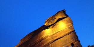 Red Rocks Dusk