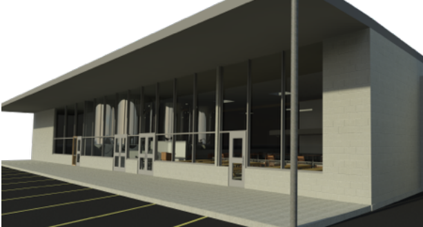 Plans for the new Geaux Brewing location, courtesy of Geaux.