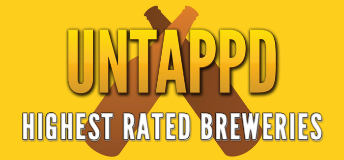 Vermont and Colorado Breweries Top Untappd's Highest Rated Breweries