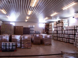 KBC cans and kegs ready to ship Photo Courtesy Timston Johnston