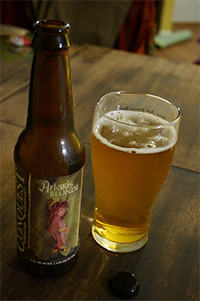 conquest brewing company's artemis blonde