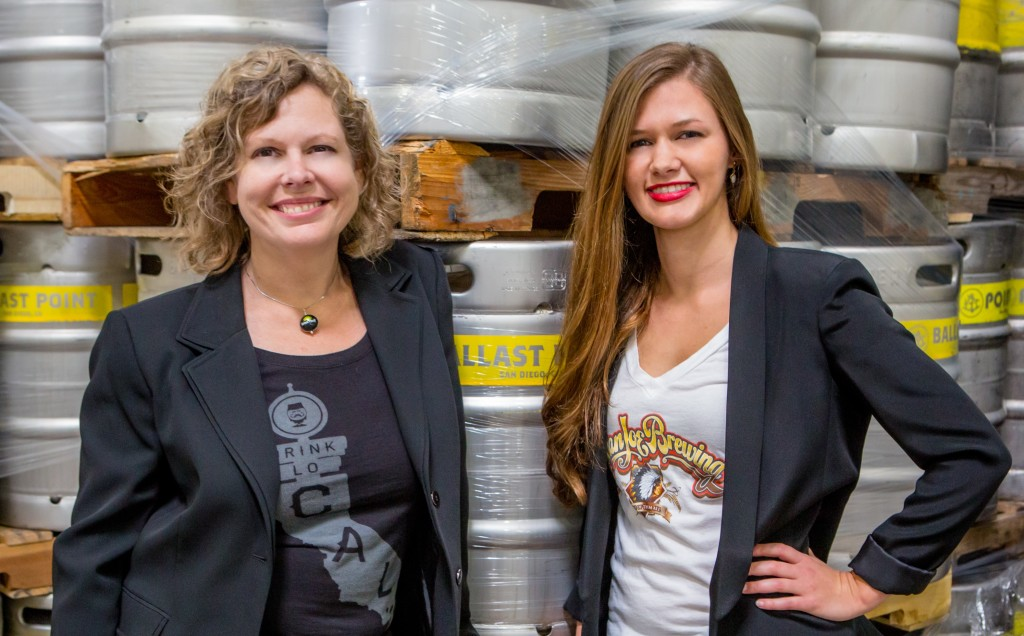 Candace L. Moon, Esq. and Stacy Allura Hosteler, Esq. of The Craft Beer Attorney (photo courtesy of www.craftbeerattorney.com)