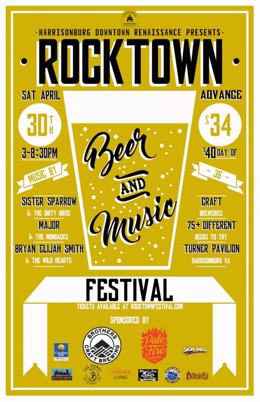Rocktown Beer Poster