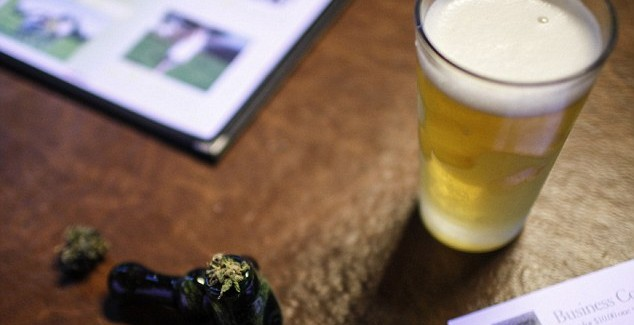 weed and beer pairing